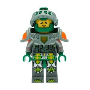 Zegar z budzikiem LEGO® Nexo Knights Aaron