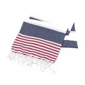 Ręcznik hammam American Stripes Sailor, 100x180 cm