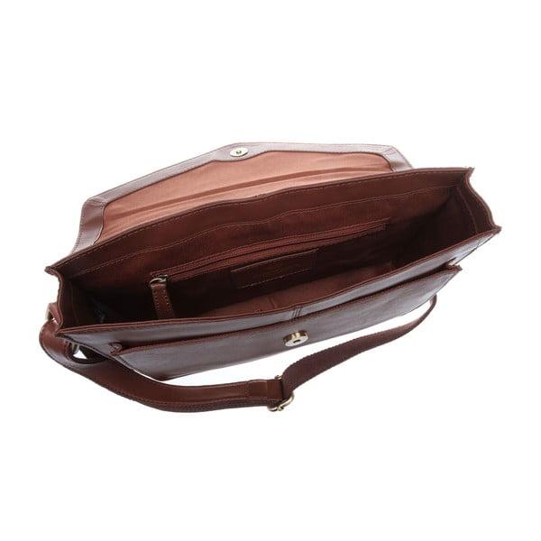 Damska torba skórzana Ursula Whisky Cross-Body