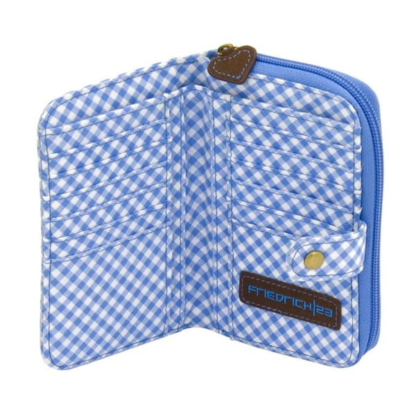 Portfel damski Bavaria Fitted Brown/Blue