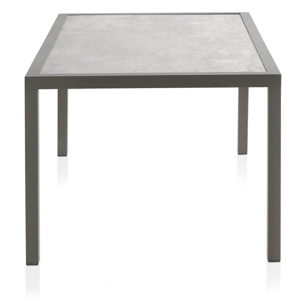 Stół ogrodowy z blatem ceramicznym Geese Francesca, 100x160 cm