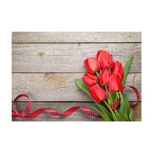 Dywan winylowy Tulips, 52x75 cm