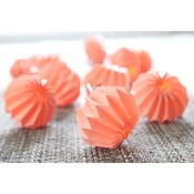 Lampa Paper Flowers Peach