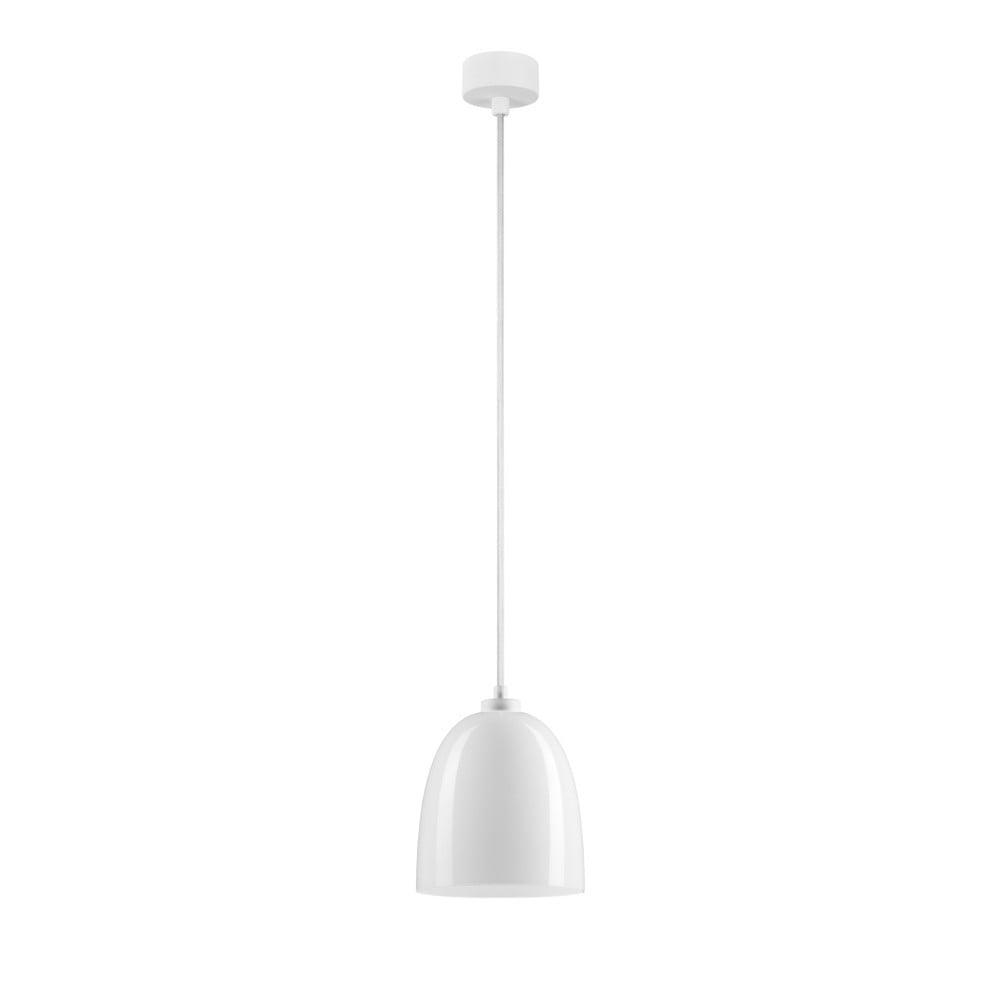 Biała lampa wisząca Sotto Luce Awa Glossy