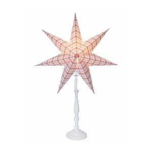 Świecąca gwiazda ze stojakiem Lisa, 70 cm