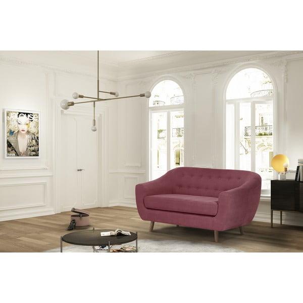 Różowa sofa dwuosobowa Jalouse Maison Vicky