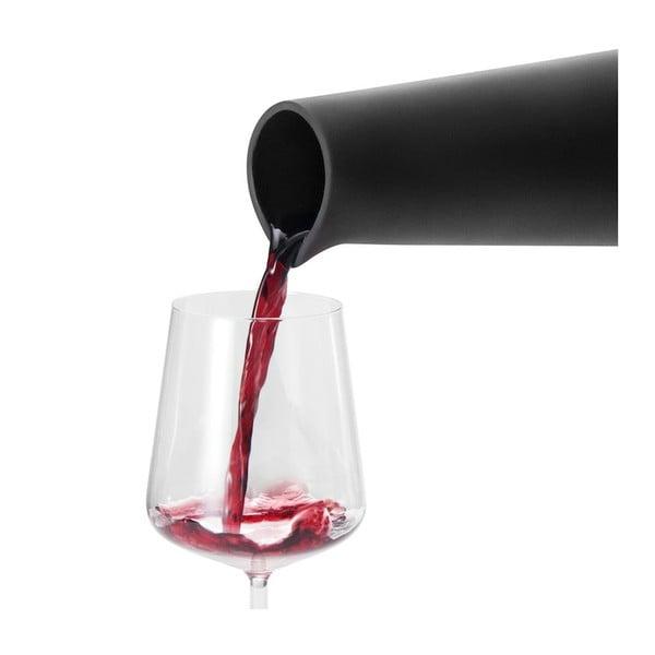 Chłodząca karafka na wino, czarna