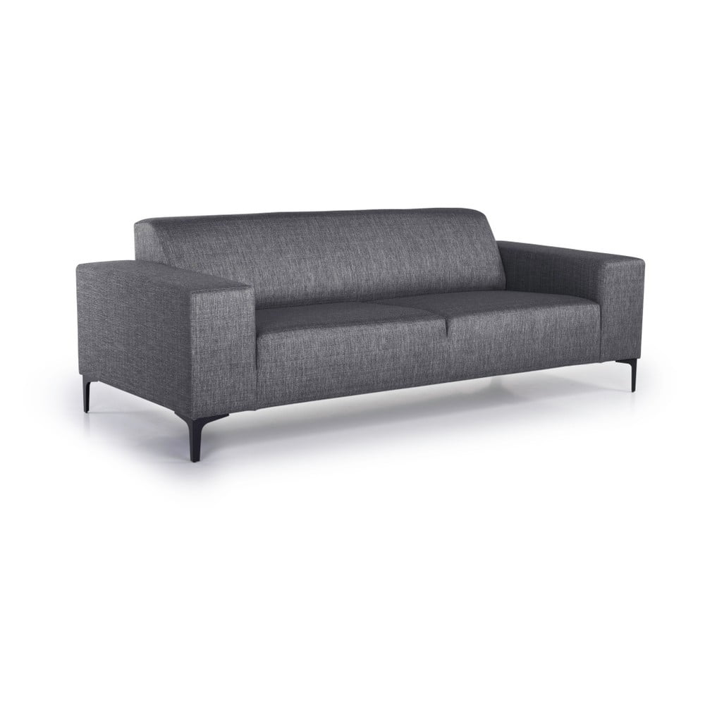 Antracytowa sofa Scandic Diva, 216 cm