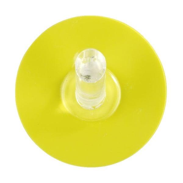 Haczyk z przyssawką Static-Loc Yellow, do 8 kg