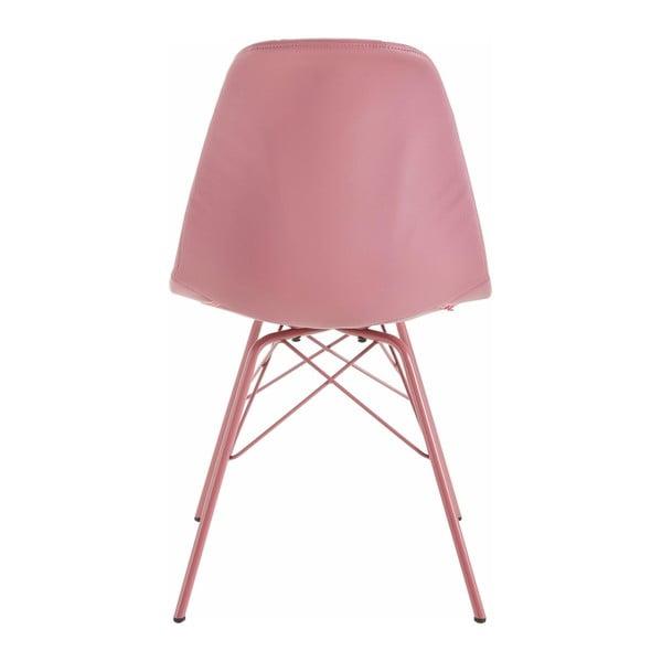 Zestaw 2 różowych krzeseł Støraa Sting