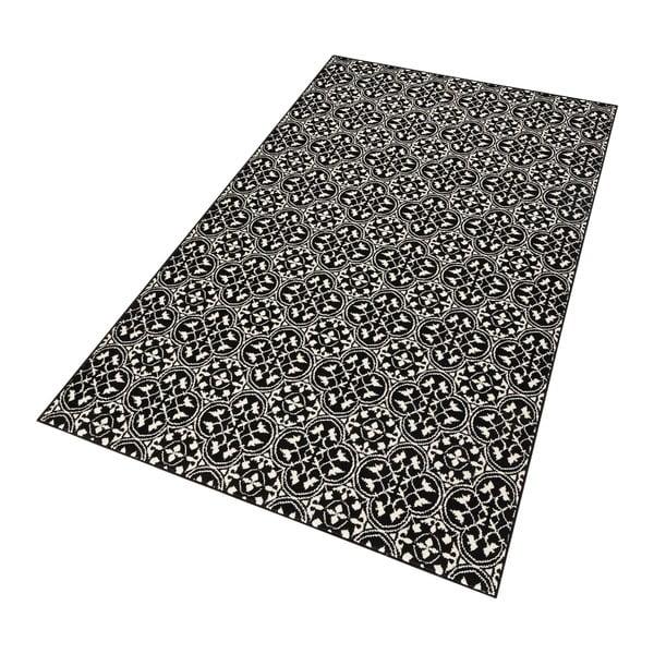 Czarny dywan Hanse Home Gloria Pattern, 120x170 cm