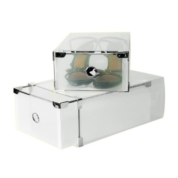 Zestaw 2 pojemników na buty JOCCA Plastic Boxes, 31x20 cm
