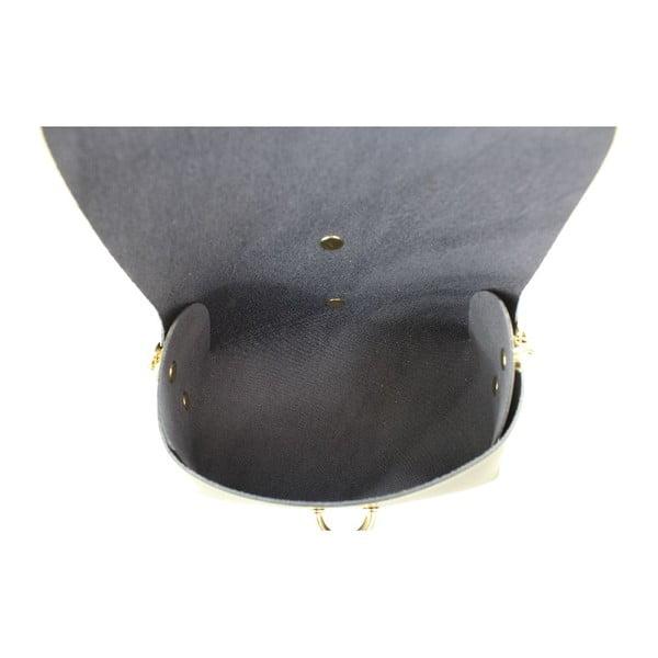 Skórzana torebka przez ramię Slaygie, czarna