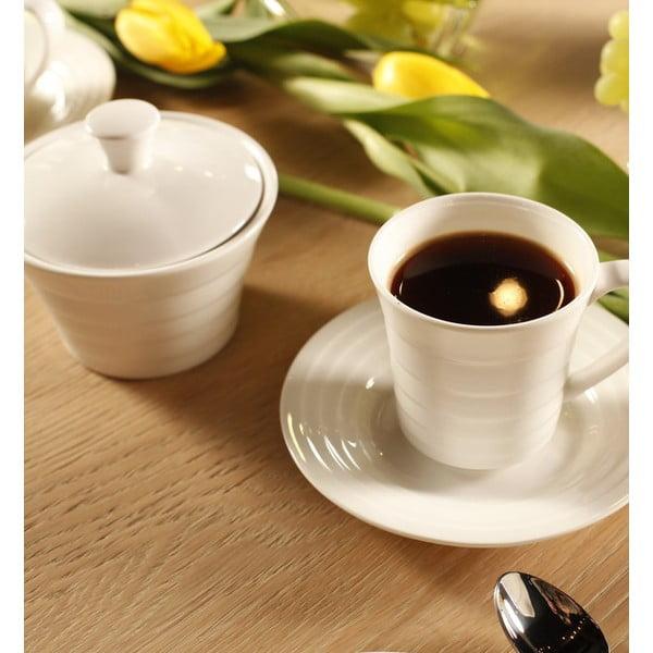 Zestaw kawowy zdobiony, 20 szt.