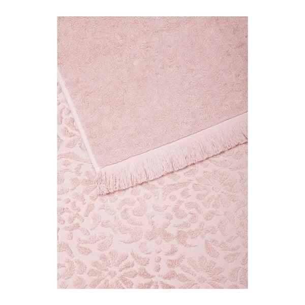 Zestaw 2 ręczników Riad Face Rose, 50x90 cm