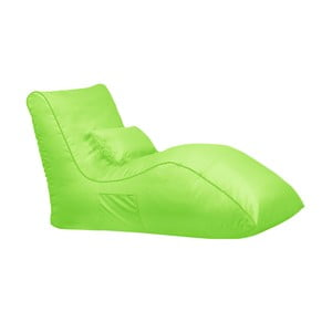 Zielony worek do siedzenia Sit and Chill Palawan Chaise Longue