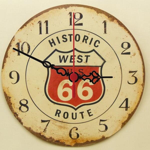 Zegar ścienny Route 66, 30 cm
