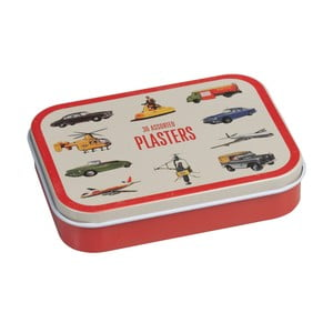Zestaw plastrów blaszanym pudełku Rex London Vintage Transport