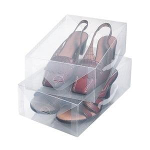 Zestaw 2 pojemników na buty Ordinett Small