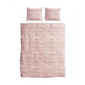 Pościel Snurk Twirre Dusty Pink, 200 x 200 cm