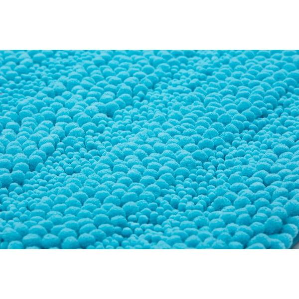 Dywanik łazienkowy Surface Turquoise, 65x110 cm