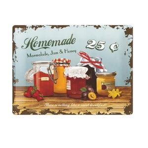 Blaszana tablica Homemade, 30x40 cm