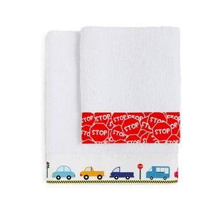 Komplet 2 ręczników Traffic, 50x100 cm i 70x140 cm