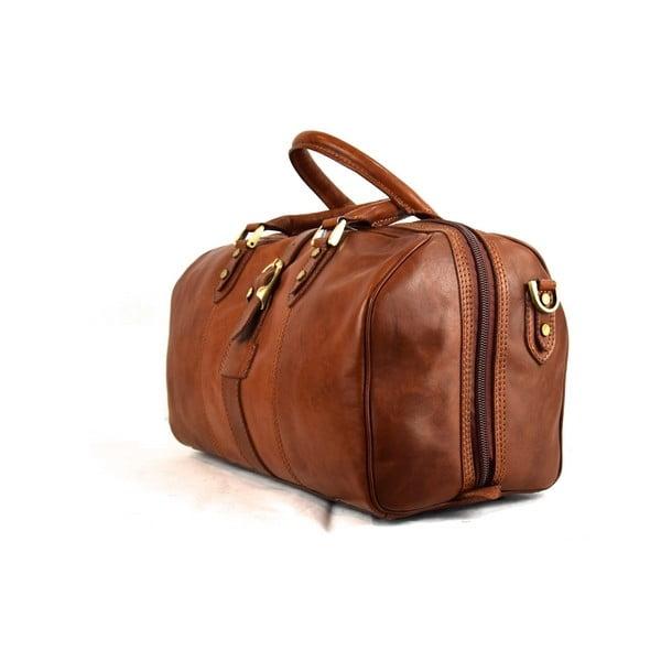 Skórzana torba Santo Croce 82965 Brown