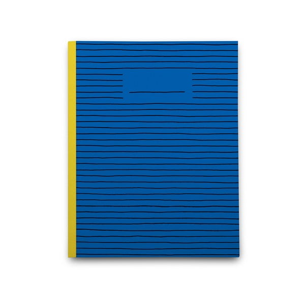 Notatnik Blue Paper, niebieski