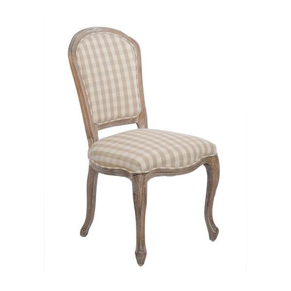 Krzesło Checquers Beige, 50x50x96 cm