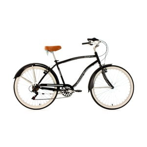 Rower Beachcruiser RH Black, 26""