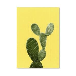 Plakat Cactus On Yellow