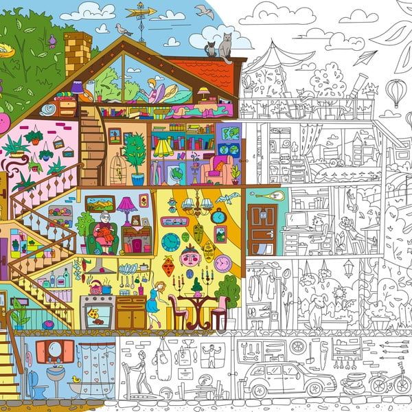 Kolorowanka Creative Gifts Sweet Home