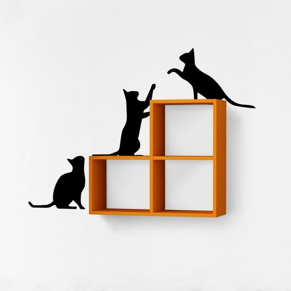 Półka z naklejką Cats Orange