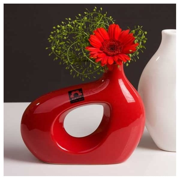 Wazon Marna 18 cm, czerwony