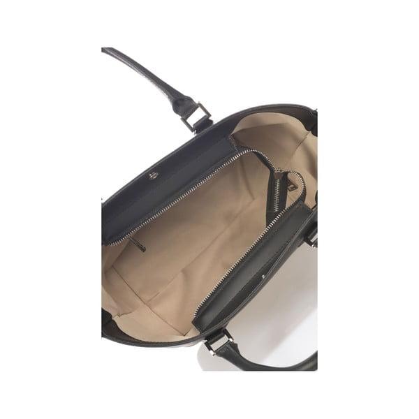 Skórzana torebka Krole Kayleen, czarna