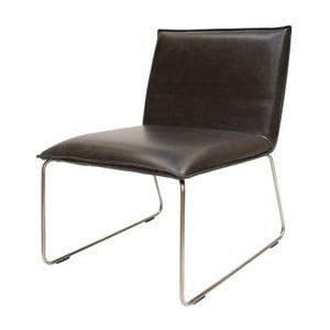 Czarne krzesło Canett Gentle