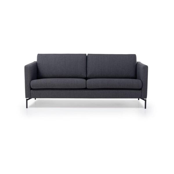 Ciemnoszara sofa 3-osobowa Softnord Paris