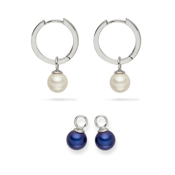 Komplet kolczyków perłowych Nova Pearls Copenhagen Didiane