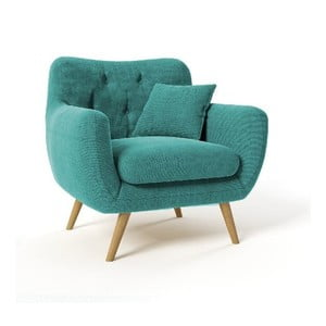 Fotel Renne, niebieski