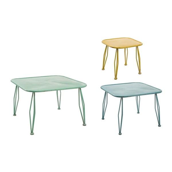 Zestaw 3 stolików Bizzotto Tavolino Gustav