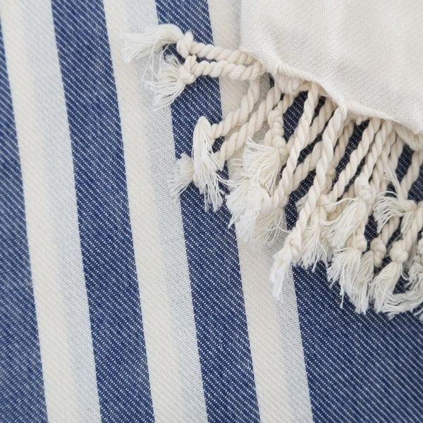 Ręcznik hammam Fouta Dark Blue, 100x180 cm