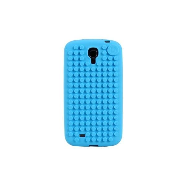 Pikselowe etui na Samsung S4, błękitne