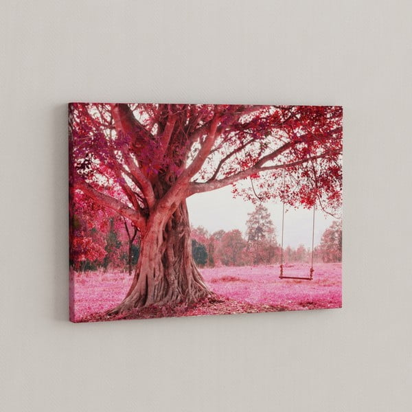 Obraz Różowe drzewo, 50x70 cm