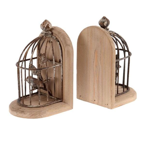 Zestaw 2 podpórek na książki Cage