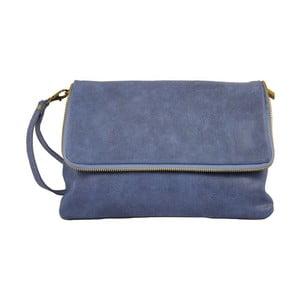Niebieska torebka skórzana Chicca Borse Rosa