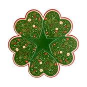 Półmisek z motywem świątecznym Brandani Tempo di Festa, ⌀ 34 cm