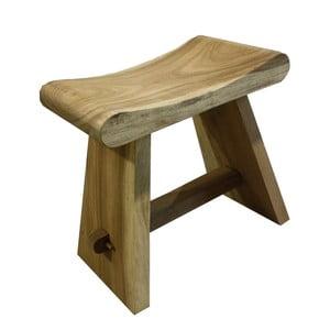 Stołek ze drewna mungur HSM collection Rondo