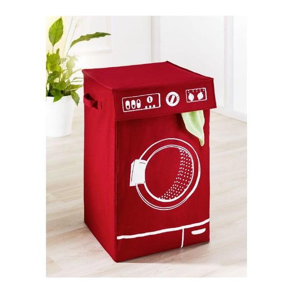 Czerwony kosz na pranie Wenko Lavo