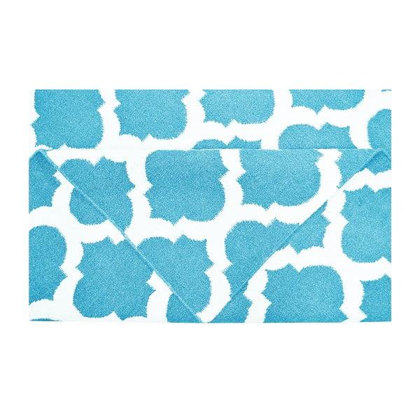 Dywan wełniany Julia Light Blue, 120x180 cm